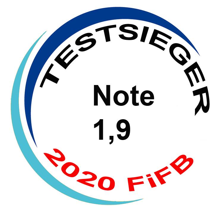 Testsieger 2020 FIFB